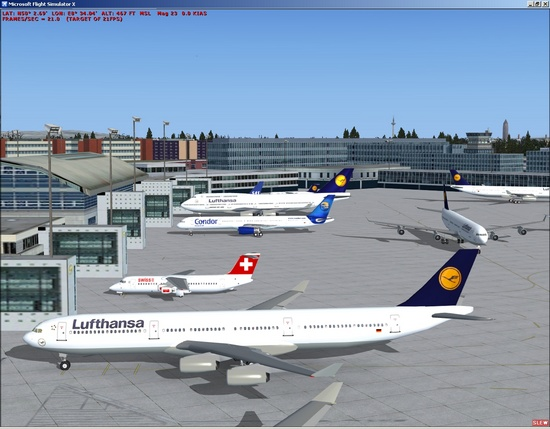 AirNav FS Live Traffic Screenshot